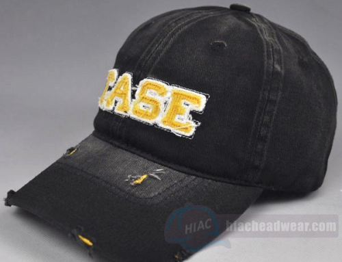 Custom Washed Baseball Cap