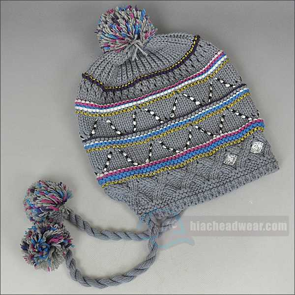 custom baby beanies braid