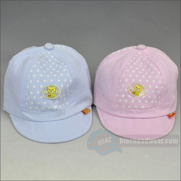 custom baby emb hats