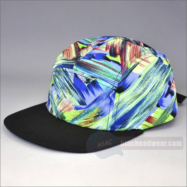 custom blank 5 panel hat brim