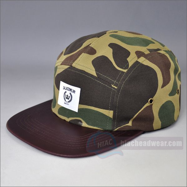 custom camo hats 5 panels