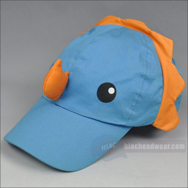 custom cotton kids baseball hats left