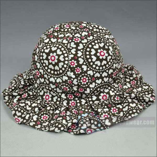 custom cotton twill fabric bucket hats wholesale
