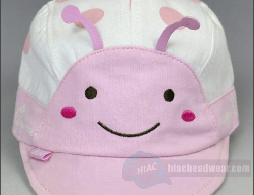 Custom Embroidery Pink Childrens Hat