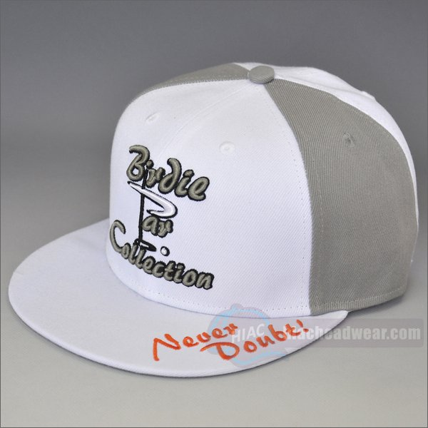 custom fitted hats with-3d embroidery