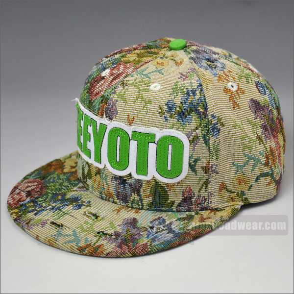 custom fresh snapbacks floral