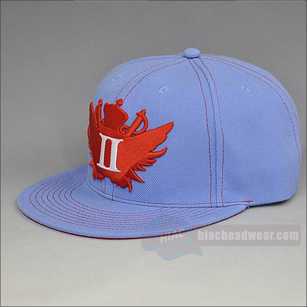 custom logo athletic snapback back embroidery
