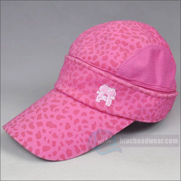 custom pink long bill baseball hats