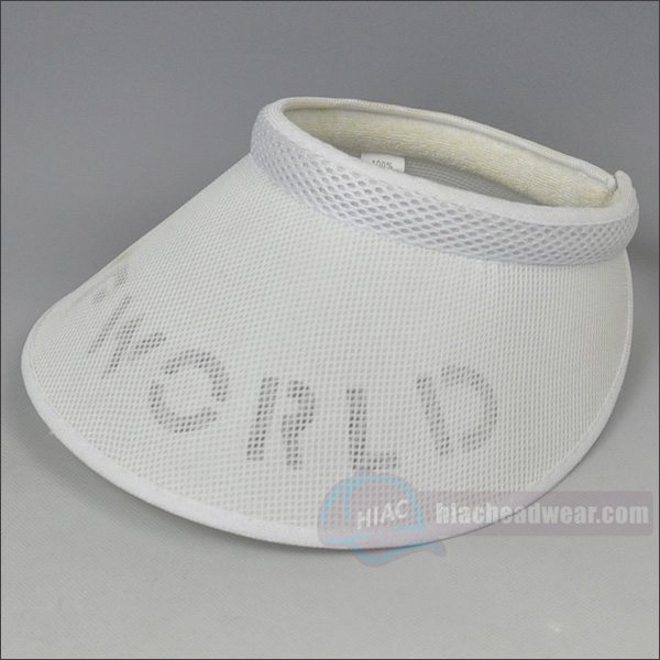 custom pvc visor hats