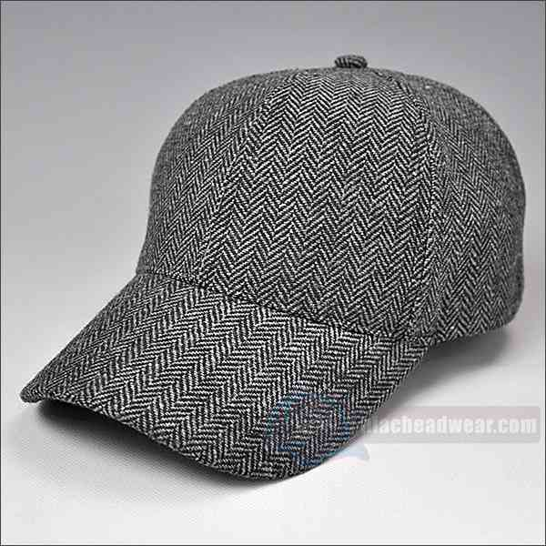custom retro baseball hats Wool left