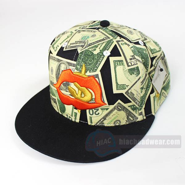 custom retro snapbacks 3d embroidery