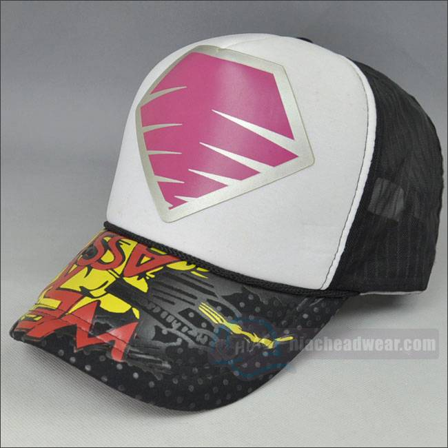 custom trucker hats for women rubber printing