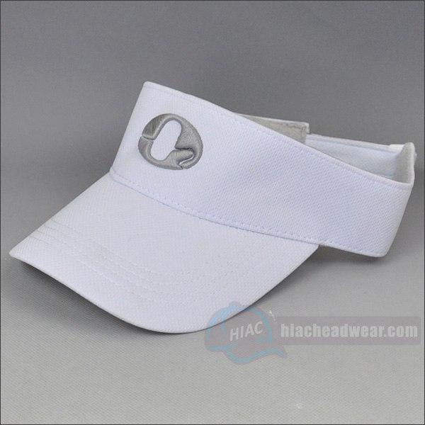 custom white emb golf hats