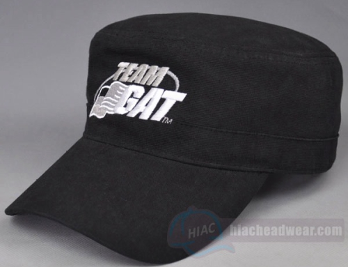 Custom Wholesale Black Military Hats