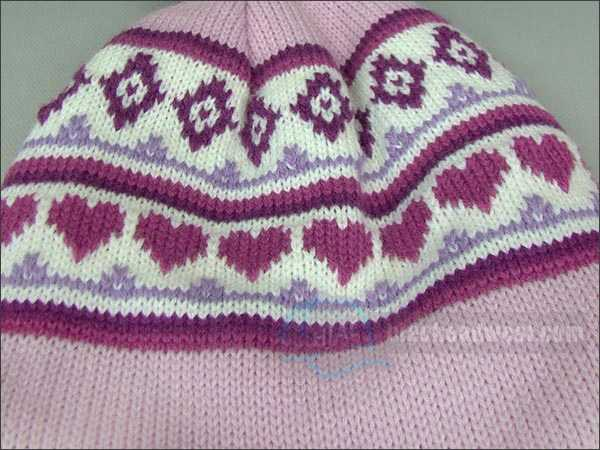 custom winter knit hat