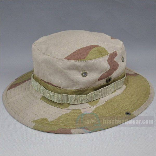 customized camo bucket hats