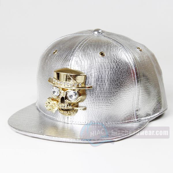 snapbacks.com leather skull caps